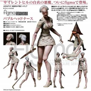 Good Smile Company Max Factory Figma SP-061 Silent Hill 2 Nurse Hemşire Figür Action Figure