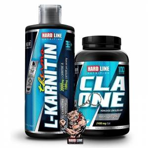 Hardline Thermo L-Karnitin Sıvı 1000 ML + CLA One Kombinasyonu