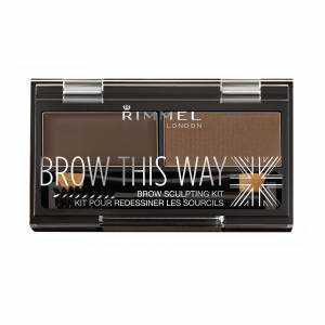 Rimmel London Brow This Way Kit Dark Brown