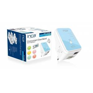 INCA  IAP-752DB WİRELESS 300 MBPS 5 GHZ DUALBAND MİNİ ROUTER /REPEATER