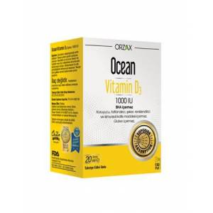 Ocean Vitamin D3 1000IU Sprey 20ml
