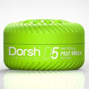 Dorsh Wax 150ml. D5 Yeşil Mat