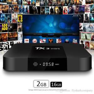 IP TV TX3 mini ANDROID TV BOX S905W 2GB RAM 16GB ROM 2GHZ 4k
