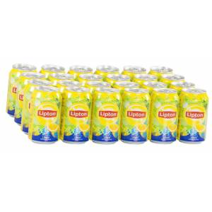 Lipton Ice Tea Limon Aromalı 330Ml (24 Adet)