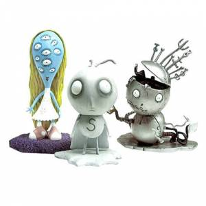 Tim Burton Tragic Toys Action Figures