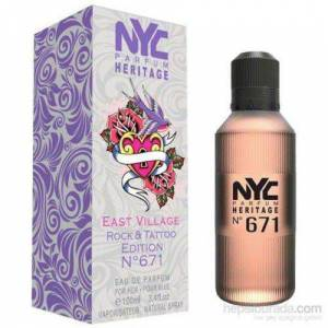 Nyc East Village Rock and Tattoo Edition No:671 For Her EDP 100 ml Bayan Parfümü
