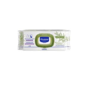 Mustela Cleansing Wipes with olive (50wipes)