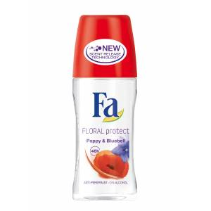 FA FLORAL PROTECT POPPY BLUEBELL KADIN ROLL-ON 50ML