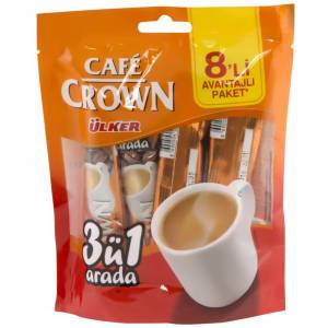 Cafe Crown 3Ü1 arada 13 Gr Doypack Multipack 8 Adet