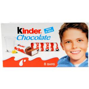 Kinder Chocolate Süt Kakao 8 li 100 Gr