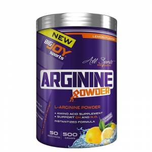 Big Joy L-Arginine Powder 500 Gr LİMON