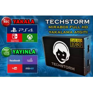Techstorm Mirabox Full HD Yakalama Aygıtı