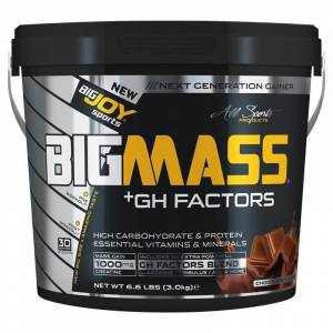 Big Joy Big Mass +GH Factors 3000 Gr MUZ