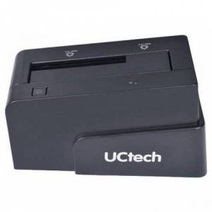 UCtech 6618 25 ve 35 SATA USB 3.0 HDD Docking Station Disk İstasyonu