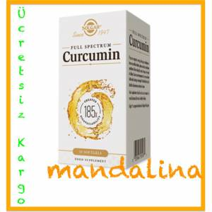 SOLGAR Full Spectrum Curcumin (Kurkumin) 30 Softgel 08/2021