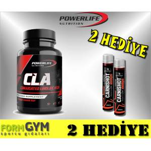 Powerlife CLA 1000 mg 100 Softgel Kapsül + 2 HEDİYE