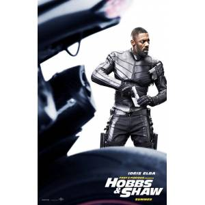 Fast and Furious Hobbs and Shaw (2019) 669784FF AFİŞ-POSTER ÖZEL RULO (35 cm x 50 cm) 3S4R5P6O