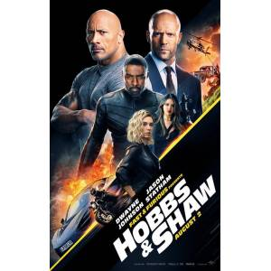 Fast and Furious Hobbs and Shaw (2019) SAWQCZ88 AFİŞ-POSTER ÖZEL RULO (35 cm x 50 cm) 3S4R5P6O