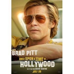 Once Upon a Time in Hollywood (2019) MA993ALK AFİŞ-POSTER ÖZEL RULO (35 cm x 50 cm) 3S4R5P6O
