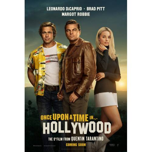 Once Upon a Time in Hollywood (2019) 8G55BOAS AFİŞ-POSTER ÖZEL RULO (35 cm x 50 cm) 3S4R5P6O