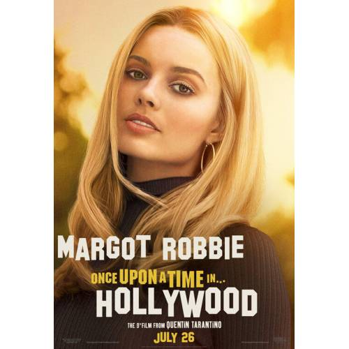 Once Upon a Time in Hollywood (2019) 71OONH02 AFİŞ-POSTER ÖZEL RULO (35 cm x 50 cm) 3S4R5P6O