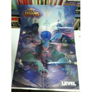 HEARTH STONE RISE OF SHADOWS  DEVİL MAY CRY 5 - LEVEL POSTER EKİ