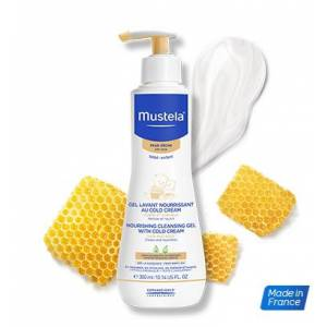 Mustela Nourishing Cleansing Gel With Cold Cream Şampuan 10/2020