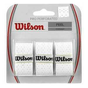 Wilson Pro Perforated Overgrip Raket Gribi WRZ4005 White