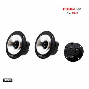OTO HOPARLÖR 100W 50RMS 4 OHMS NEODİUM TWEETER 2 ADET FOR-X TX-250