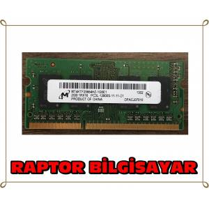 MICRON 2 GB DDR3L 1600 MHZ LAPTOP NOTEBOOK RAM BELLEK