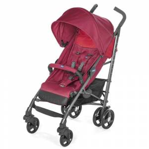 Chicco Lite Way 3 Top Baston Bebek Arabası Berry
