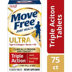 Orijinal Move Free ULTRA Triple Action Joint Health Type II Collagen USA