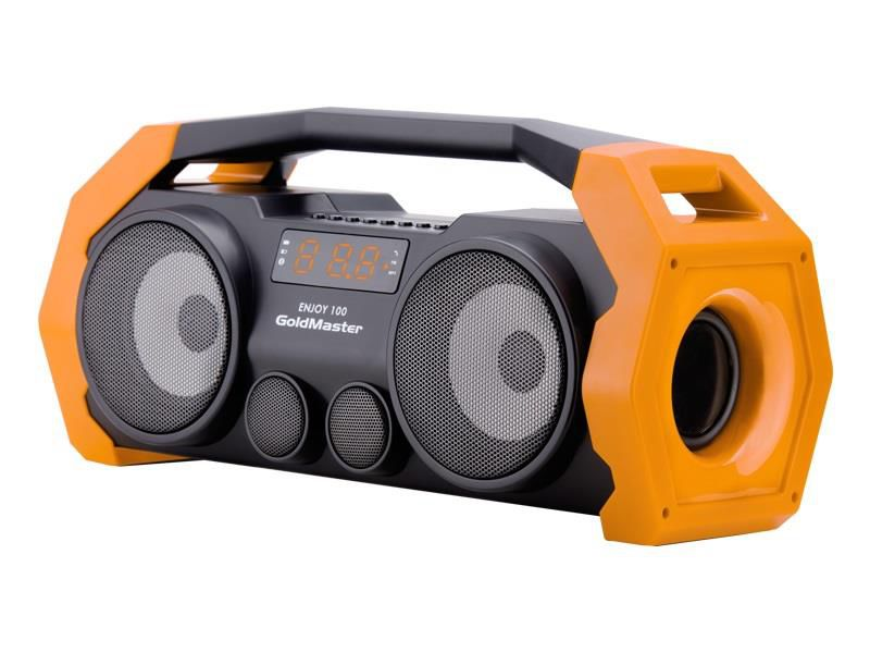 Goldmaster Enjoy-100 Bluetooth,Radyo,SD,USB Ses Sistemi Turuncu