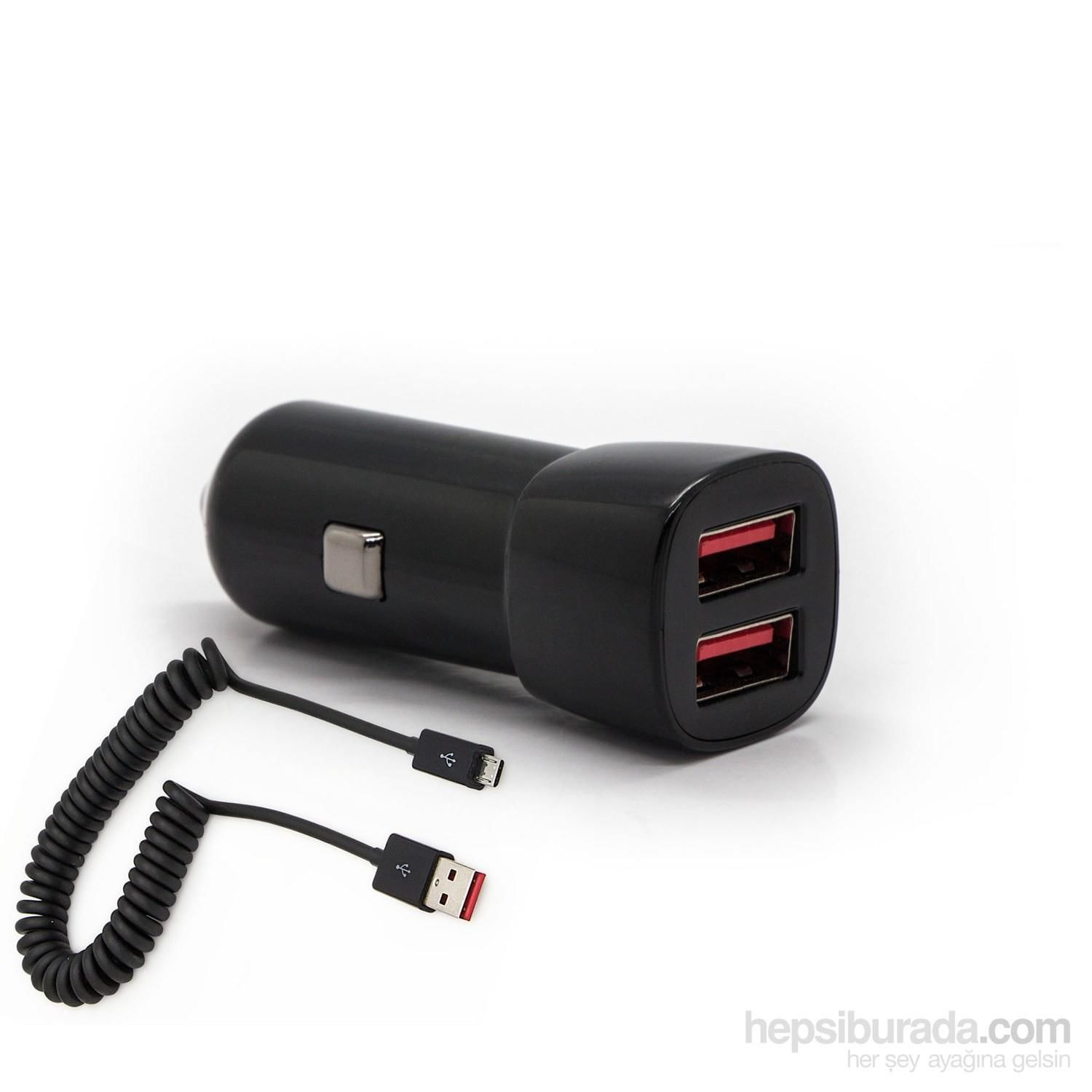 Swiss-Charger  SCH-30022 Dual USB Car Charger