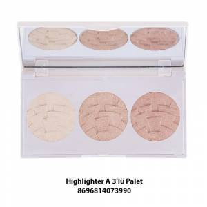 Gabrini Highlighter Palet Set