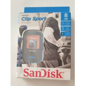 SanDisk Clip Sport 8GB MP3 Player Mavi