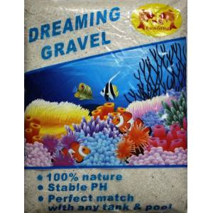 Dreaming Gravel Saf Mercan Kumu 0.5-1 mm. 10 kg.