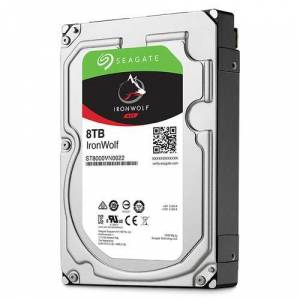 Seagate 8TB ST8000VN004 Ironwolf 3.5 7200 256MB 6Gb/s NAS Hard Disk