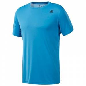 Reebok Wor Tech T-Shirt - Mavi MEDIUM