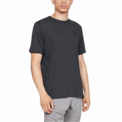 Under Armour Sportstyle Left Chest T-Shirt - Siyah SMALL 473358427