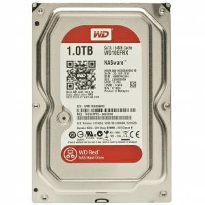 WD 1TB RED 3,5 64MB 5400RPM WD10EFRX