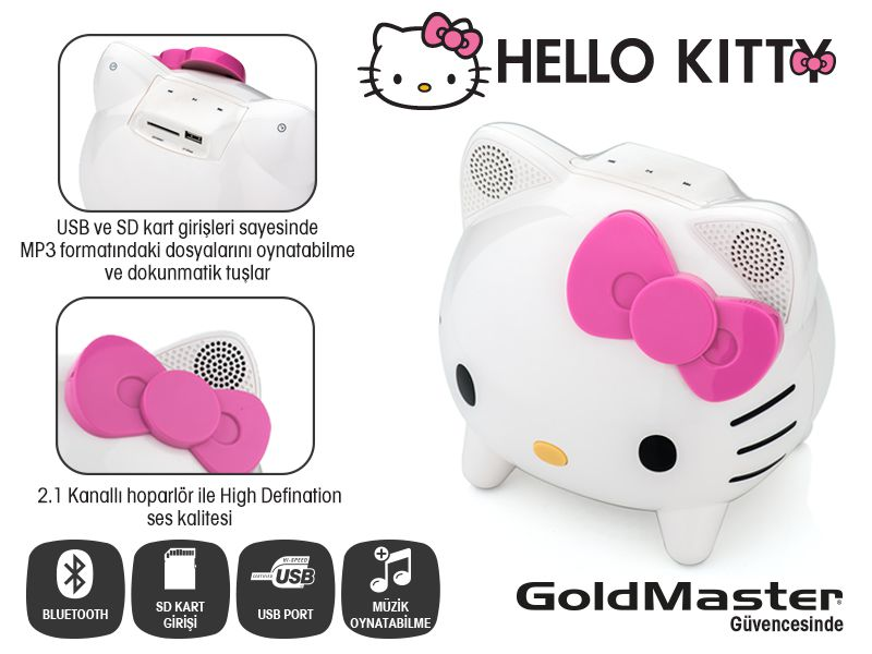 Hello Kitty HELLO KITTY KT-2 HOPARLÖR