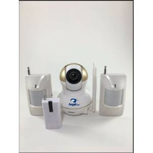 Angel Eye KS-512 Full HD Wifi Ev ve Bebek iP Kamera 4in1 Full Set