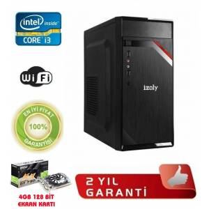 intel i3 3.20Ghz 4GB VGA4GB RAM120GB SSD  Gaming Pc