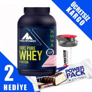 Multipower 100 Pure Whey Protein 900 Gr ÇİLEK