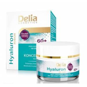 Delia Hyaluron Anti-wrinkle Day-night Cream 60+