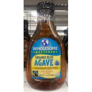(USA) WHOLESOME Sweeteners ORGANIC BLUE AGAVE 666g