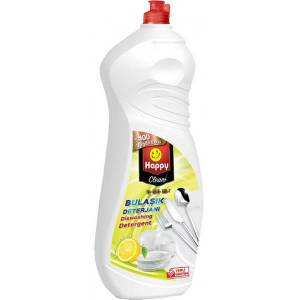 Happy Clean Plus Bulaşık Deterjanı Limonlu 1350 ml