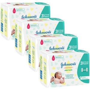 Johnsons Baby Islak Havlu Cotton Touch 72 li x 12 Adet (864 Yaprak)