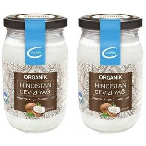 The LifeCo Organik Hindistan Cevizi Yağı 337 ml x 2 Adet